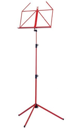 K&M Music stand - rainbow series - red