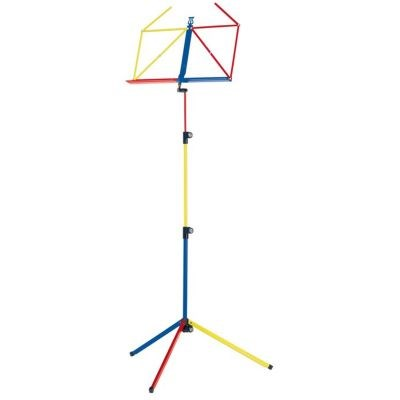 K&M Music stand - rainbow series - red/blue/yellow