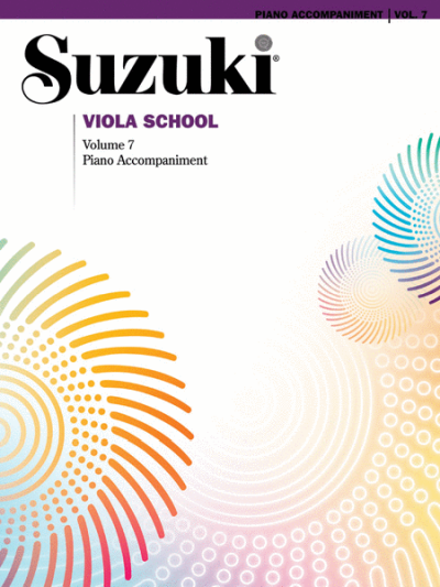 Suzuki Viola School Piano Accompaniments, Volume 7