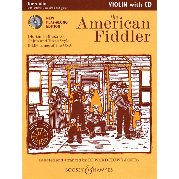 The American Fiddler with CD