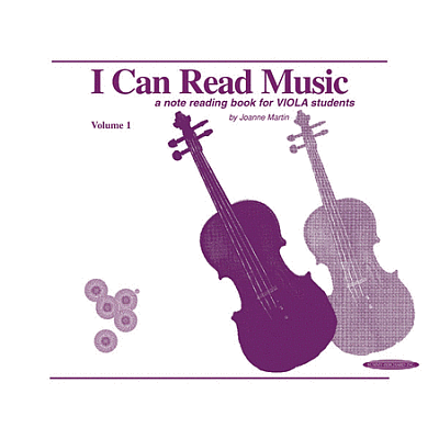 I Can Read Music: Viola, Volume 1