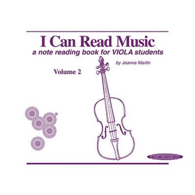 I Can Read Music: Viola, Volume 2