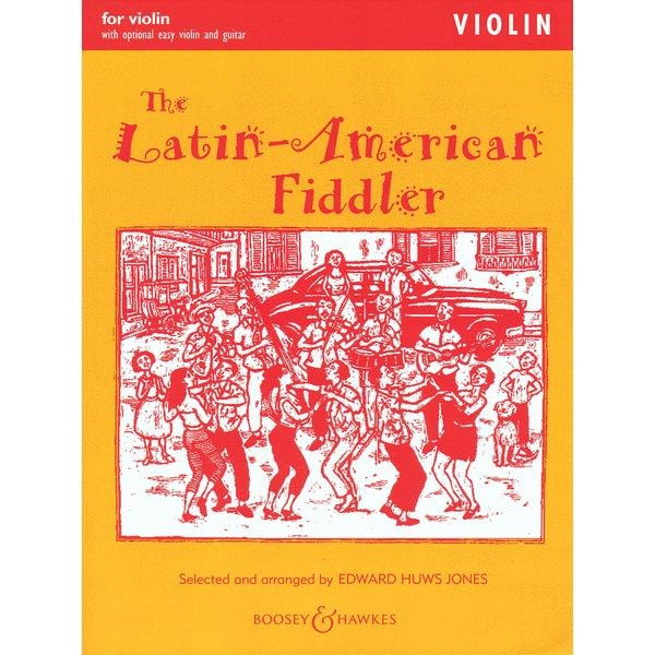 The Latin American Fiddler for Violin Solo
