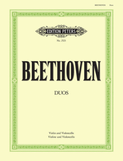 Beethoven Duo for Violin and Cello