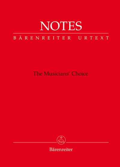Baerenreiter's Mini Blank Book