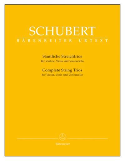 Schubert: Complete String Trios
