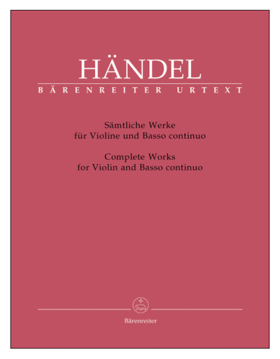 Handel Violin Sonatas