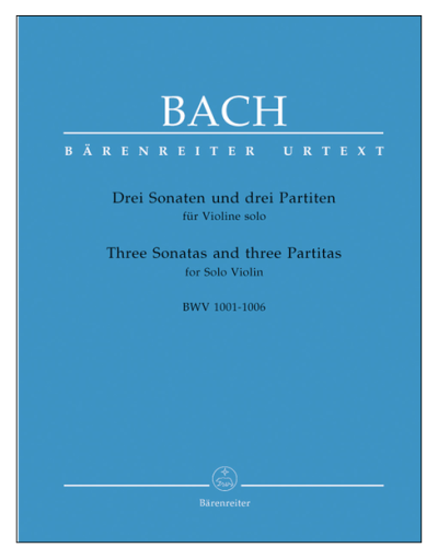 Bach Sonatas and Partitas for Solo Violin