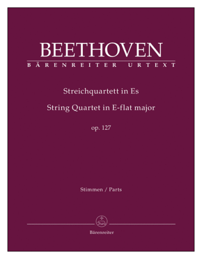 Beethoven String Quartet, Op 127