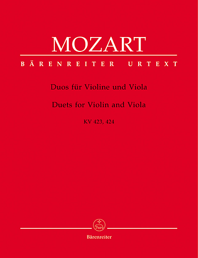 Mozart: Duos for Violin and Viola