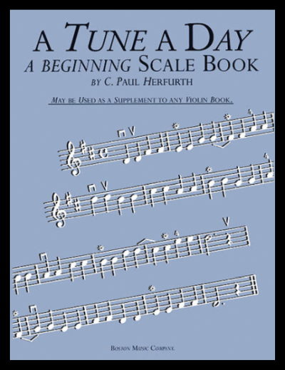 A Tune A Day Scale Book