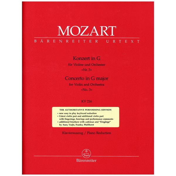 Mozart Violin Concerto in G Major K. 216
