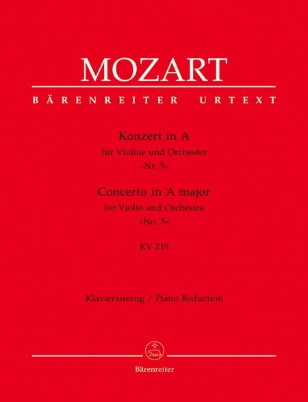 Mozart Violin Concerto In A Major, K. 219