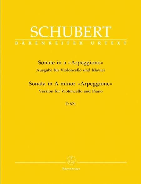 """Schubert Cello Sonata """"Arpeggione"""" D 821"""