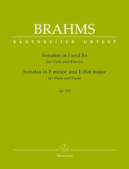 Brahms: Viola Sonatas in F minor and E-flat Major, Op. 120