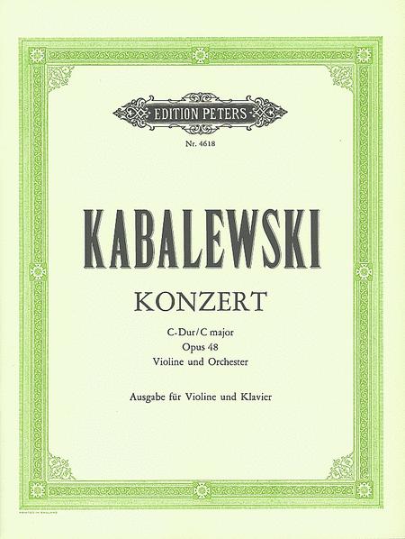 Kabalevsky Violin Concerto, Op. 48 in C Major