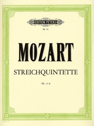 Mozart String Quintets, 4-8