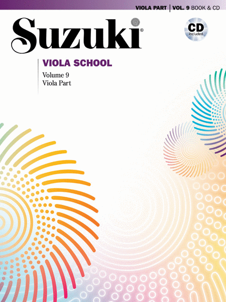 Suzuki Viola School, Volume 9 - with CD
