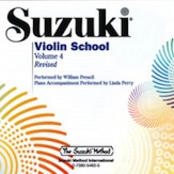 Suzuki Violin School, Volume 4 CD - William Preucil