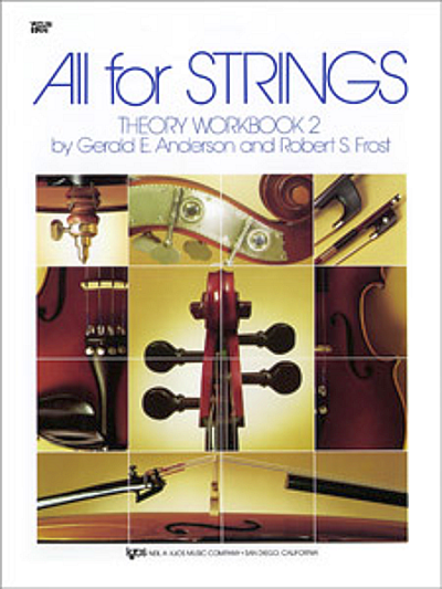 All For Strings, Theory Workbook 2 for Violin