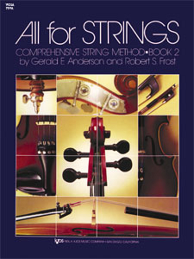 All For Strings, Viola Book 2
