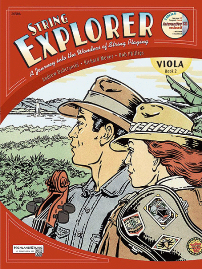 String Explorer, Viola Book 2