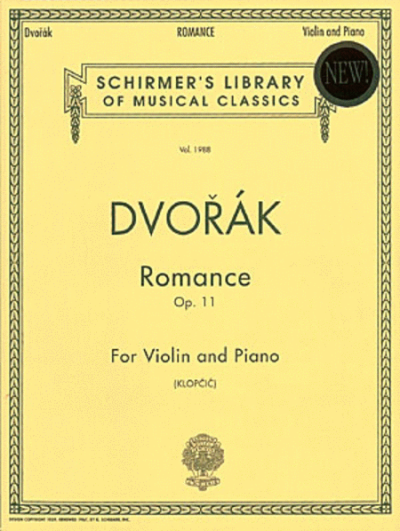 Dvorak: Romance, Op. 11