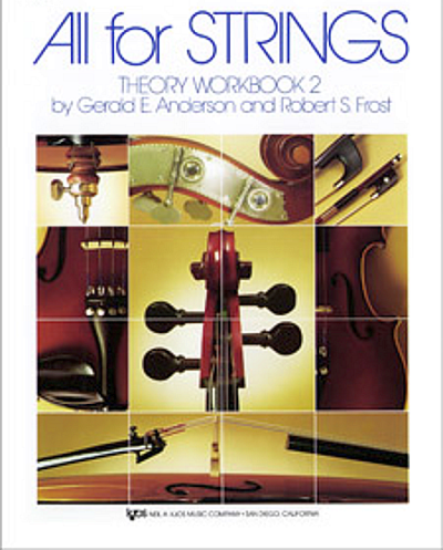 All For Strings, Theory Workbook 2 for Cello