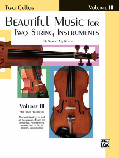 Beautiful Music For Two String Instruments, Cello Book 3