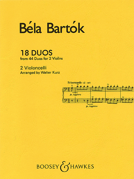 Bartok: 18 Duos for 2 Cellos (from 44 Duos for 2 Violins)