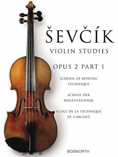 Sevcik: School of Bowing Technique, Op. 2, Part 1