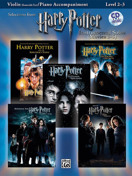 Harry Potter, Instrumental Solos for Strings (Movies 1-5) - Violin