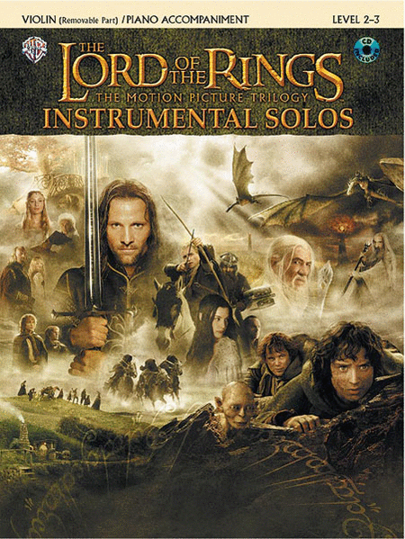 The Lord of the Rings: Instrumental Solos for Violin