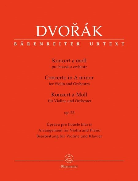 Dvorak: Violin Concerto in a minor, Op. 53