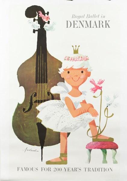 Denmark Ballet Poster