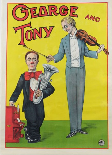 George and Tony Poster