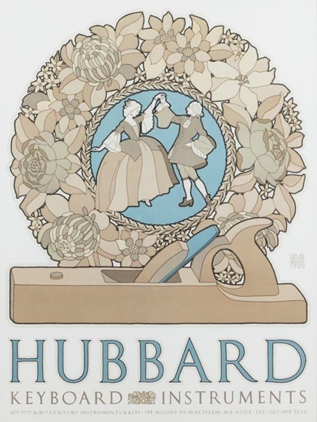 Hubbard by David Lance Goines