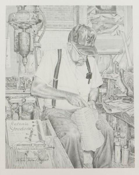 Violin Maker Poster
