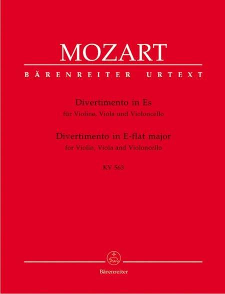 Mozart: Divertimento in Eb for Violin, Viola and Cello