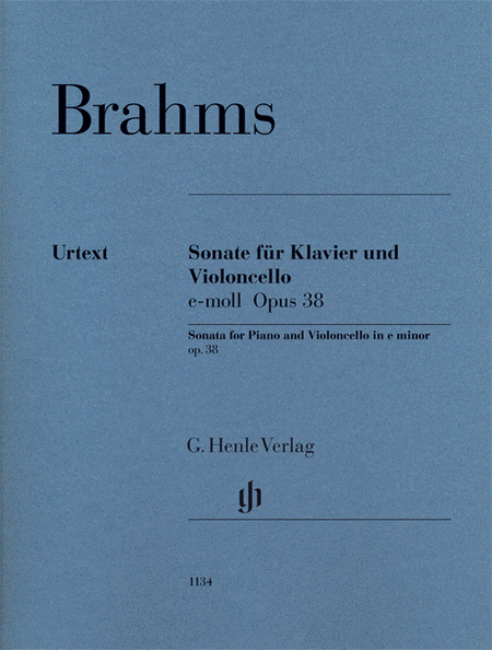 Brahms: Violoncello Sonata in E minor, Op. 38