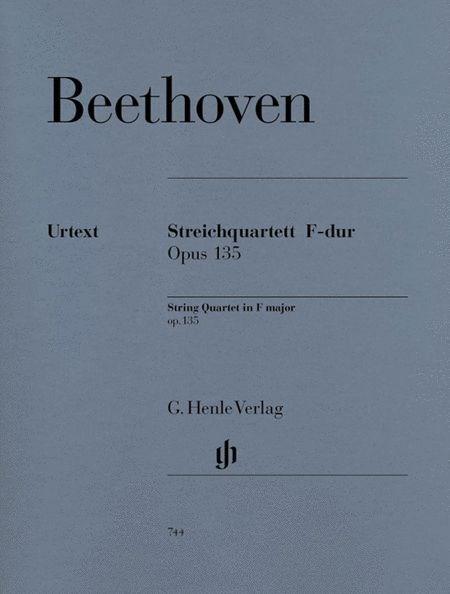 String Quartet F Major Op. 135