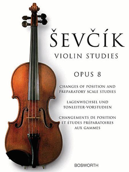 Sevcik: Violin Studies, Op 8