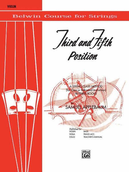 Third and Fifth Position String Builder for Violin