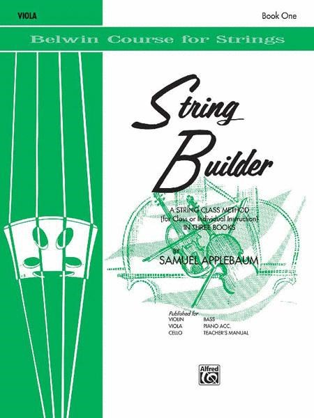 String Builder for Viola, Book 1