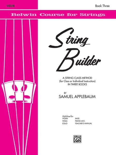 String Builder for Violin, Book 3