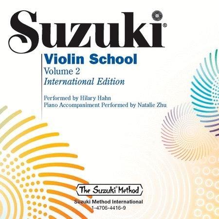 NEW! Suzuki Violin School, Volume 2 CD, performed by Hilary Hahn