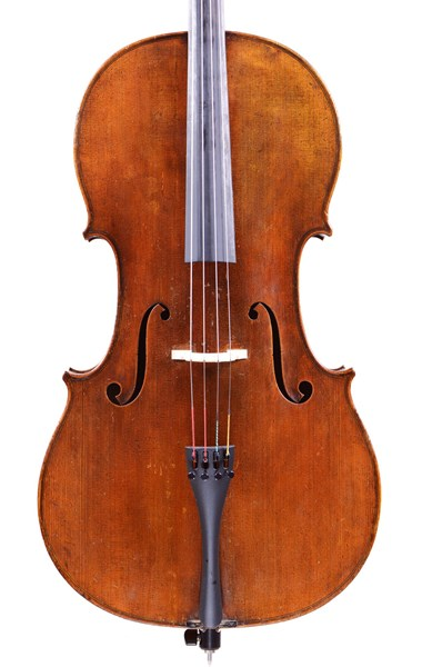 Old German cello with Strad Label