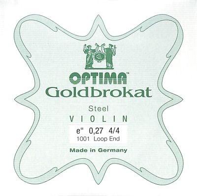 Goldbrokat Violin E, strong, loop end
