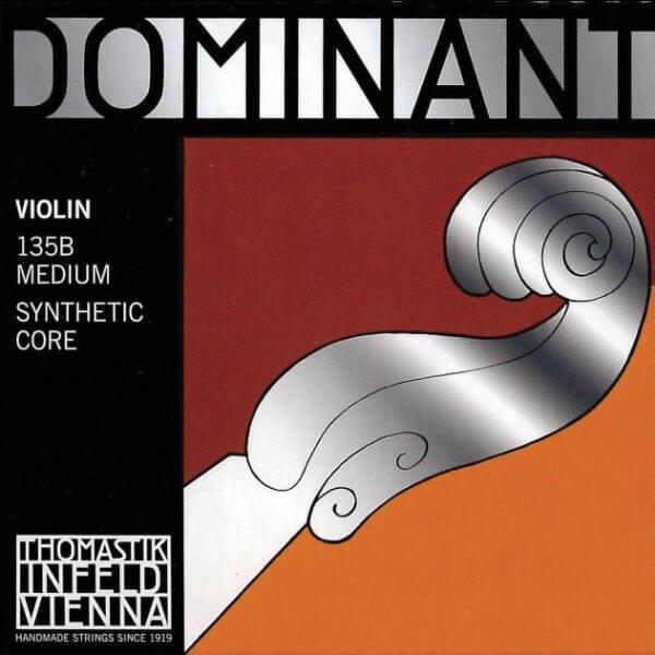 Dominant Violin Set, w/ Steel, Ball End E