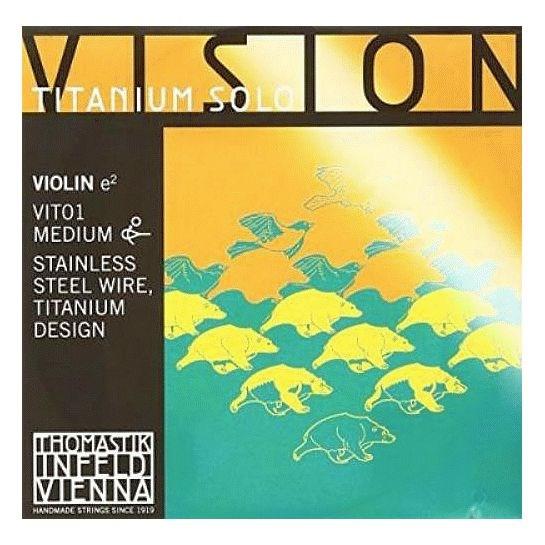 Vision Titanium Solo 4/4 Violin E, mittel